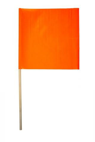 Cortina 18 Inch Vinyl Flag with 36 Inch Dowel