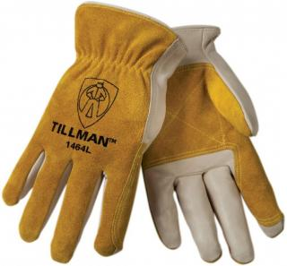Tillman 1464 Welding Driver Gloves with Added Split Cowhide Palms