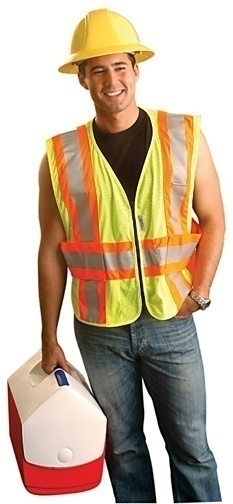 OccuNomix High Visibility Yellow Safety Vest