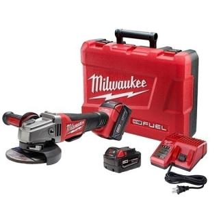 Milwaukee M18 FUEL 4-1/2in./5in. Grinder, Paddle Switch No-Lock Kit
