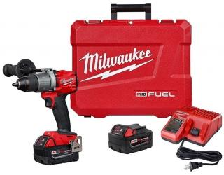 Milwaukee M18 FUEL1/2 Inch Hammer Drill/Driver Kit