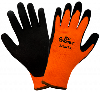 Ice Gripster 378INT Water Repellent Coated Cold Weather Gloves (12 Pair)