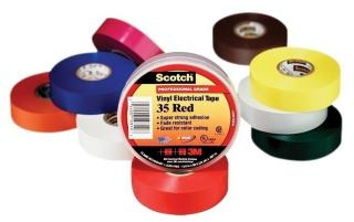 3M Scotch 35 Vinyl Color Coding Electrical Tape