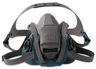 3M Rugged Comfort Quick Latch Half Facepiece Reusable Respirator 6500 Series