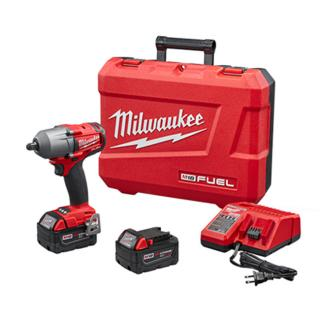 Milwaukee M18 FUEL 1/2 Inch Mid-Torque Impact Wrench with Pin Detent