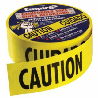 Milwaukee Reinforced Caution Tape (500 Feet)