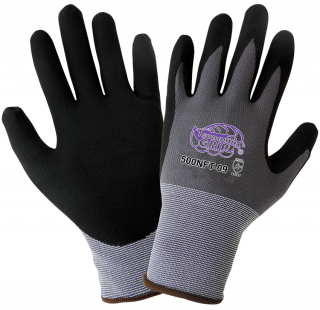 Tsunami Grip New Foam Technology Nitrile Coated Gloves