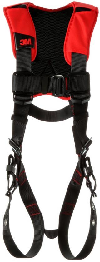Protecta Comfort Vest-Style Harness with Mating, Pass-Thru, & Tongue Buckles
