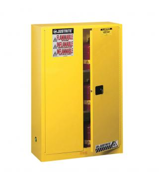 Justrite Sure-Grip EX Flammable Safety Cabinet - 45 gal - MC Doors