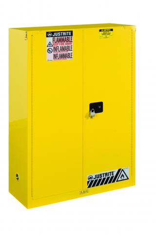 Justrite Sure-Grip EX Flammable Safety Cabinet - 45 gal - SC Doors