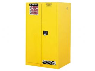 Justrite Sure-Grip EX Flammable Safety Cabinet - 60 gal - MC Doors
