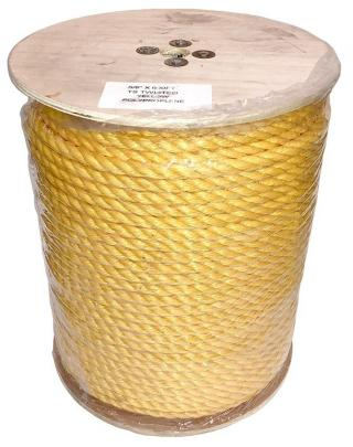 Erin Rope 5/8 Inch 3 Strand Yellow Polypropylene Rope - 600 Feet