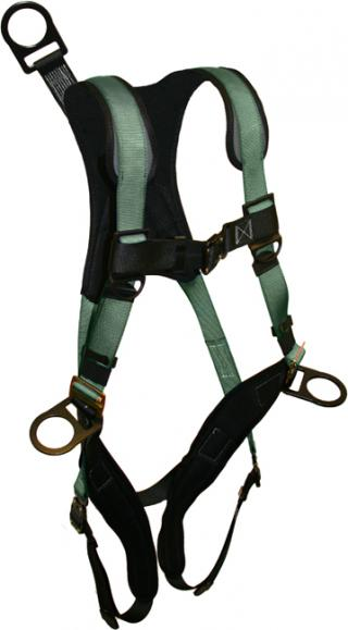 French Creek STRATOS Full Body Harnesses Bayonet Leg Buckles with 12 Inch Extension