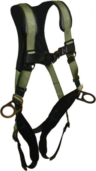 French Creek STRATOS Full Body Harnesses With Bayonet Leg Buckles