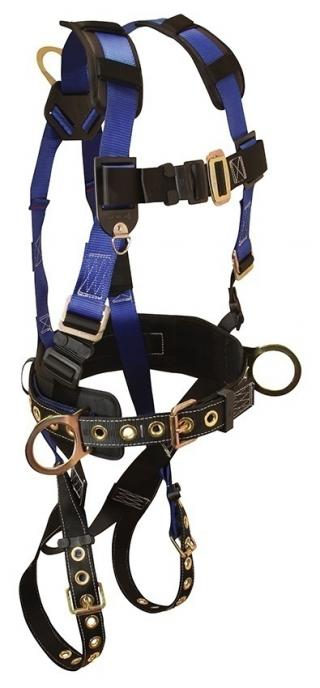 FallTech Contractor Belted 3 D-Ring Harness