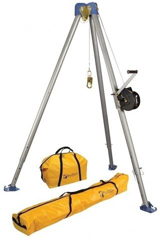FallTech 7505 Tripod Kit With Galvanized Cable