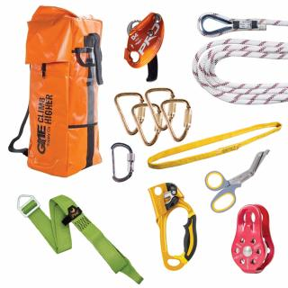 GME Supply 9027 7/16 Inch Rope Tower Z Rig Rescue Kit