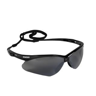 Nemesis Inferno Safety Glasses with Smoke Lens and Black Frame