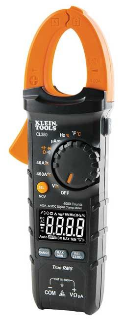 Klein Tools CL380 AC/DC Auto-Ranging Digital Clamp Meter