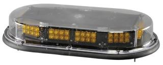 North American Signal Low Profile Mini LED Bar - Magnet Mount - Amber