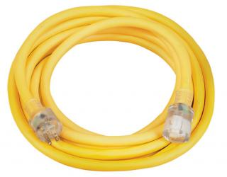 10/3 SJTW Extension Cord, 25 Foot