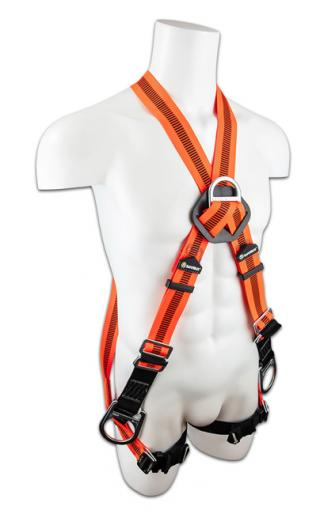 SafeWaze V-Line Cross Over 4 D-Ring Harness