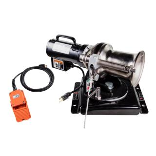 Thern 1,000 lb Capstan Winch with Swivel Mount