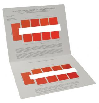 FAA In-Service Orange Color Range Chart