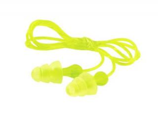 3M Tri-Flange Corded Ear Plugs - 100 Pairs