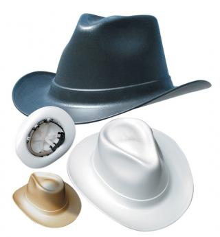 Occunomix VCB200 Western Outlaw Cowboy Hard Hat (Choose Color)