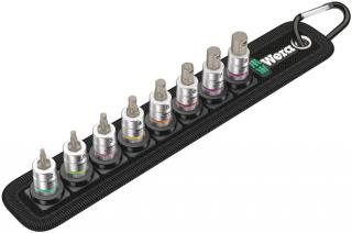 Belt A 2 Zyklop In-Hex-Plus Bit Socket Set with Holding Function, 1/4 Inch Drive, 8 Pieces