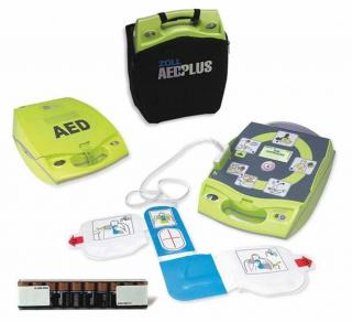 Fully Automatic AED Plus with PlusTrac Professional Option