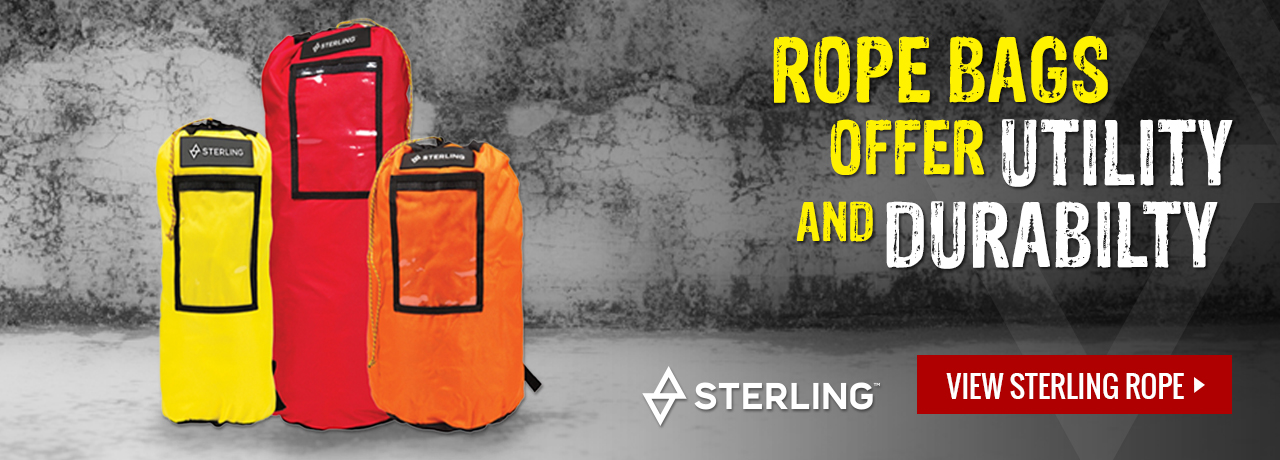 Rope bags by Sterling Rope at GME Supply