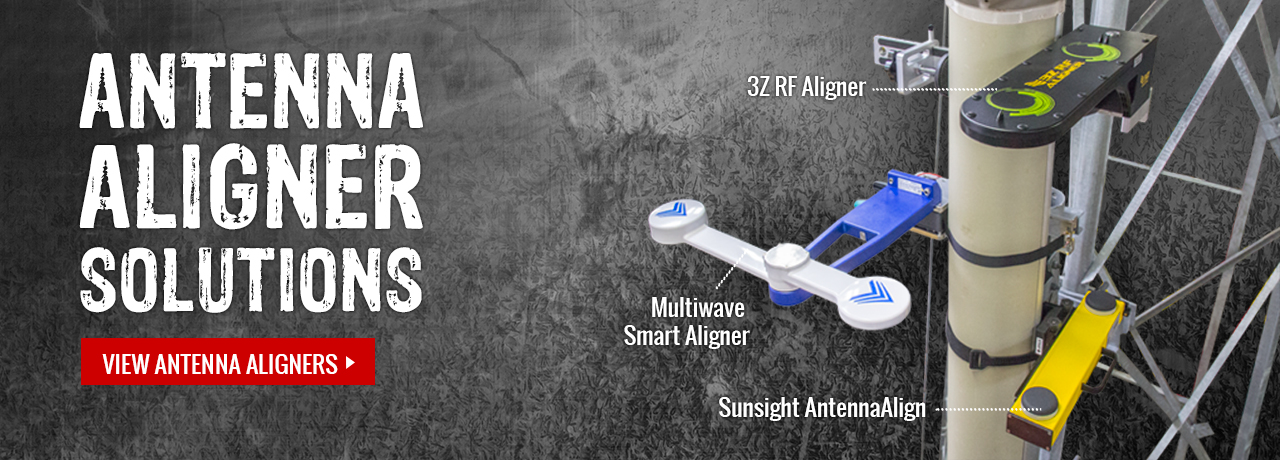 Wide range of antenna alignment tools from manufacturers like Multiwave, Sunsight, and 3Z at GME Supply