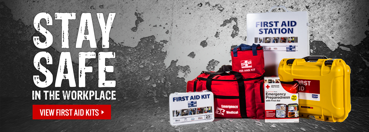 Job site Safety First Aid Kits at GME Supply