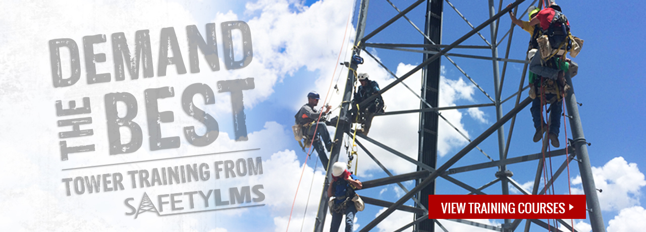 At-height, industry, and construction training courses from Safety LMS at GME Supply