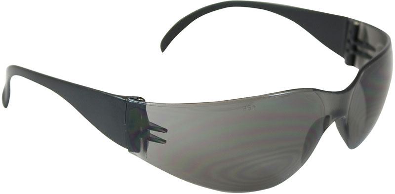 Bouton Zenon Z12 Safety Glasses with Gray Lens and Black Temple - 12 Pairs from GME Supply