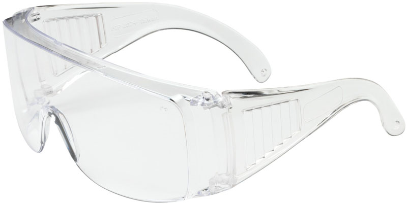 Bouton The Scout OTG Safety Glasses with Clear Lens and Clear Temple - 250-99-0900 from GME Supply