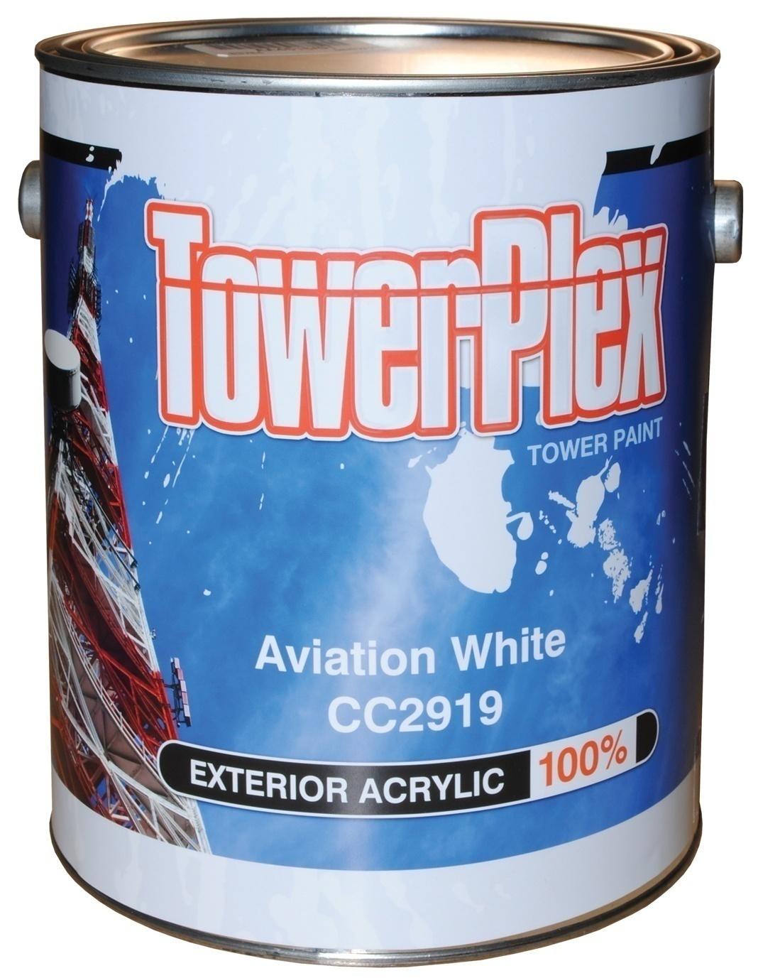 CC2919 TowerPlex Aviation White Tower Paint (5 Gallons) from GME Supply